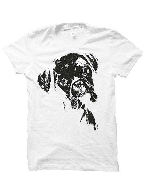 boxer t-skjorte